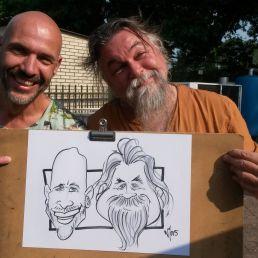 Karikaturist- Sneltekenaar Wil