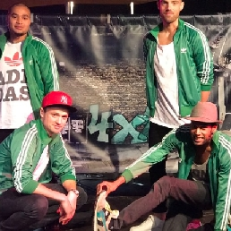 Dansgroep Mill  (NL) Hiphop in een notendop