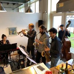 Band Rotterdam  (NL) Daniel Clason Sextet