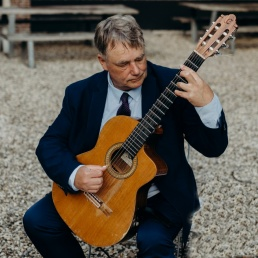 Gitarist Weesp  (NL) Christiaan de Jong