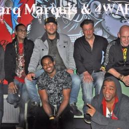 Band Amsterdam  (NL) Marq Marquis & 4WARD-Family Band