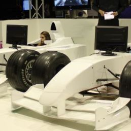 Half size F1 race simulator