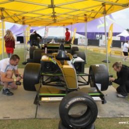 F1 Tyre change game