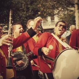 Band Hoevelaken  (NL) Red Jackets Jazzband