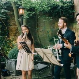 Band Groningen  (NL) Peggy Bouwer Kwartet
