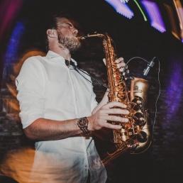 Saxofoon en Percussie isaxbonvineas