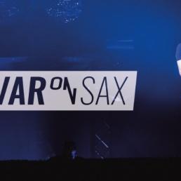 Saxofonist Barneveld  (NL) Saxofonist Ivar on Sax