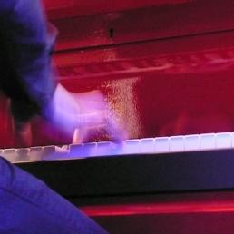 Band Valkenswaard  (NL) Spotlight Pianos Trio met LED piano