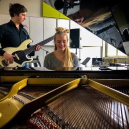 Band Utrecht  (NL) Chrisje & Eli