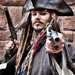 Actor Losser  (NL) Jack Sparrow 2 - double
