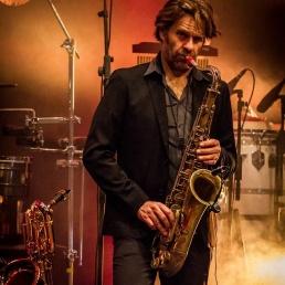 Saxofonist Muiderberg  (NL) Leon Zautsen