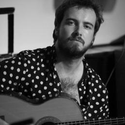Gitarist Rotterdam  (NL) Jur Vermijs