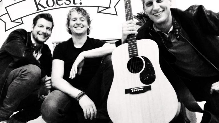 Band Leiden  (NL) Akoestisch trio Koest!
