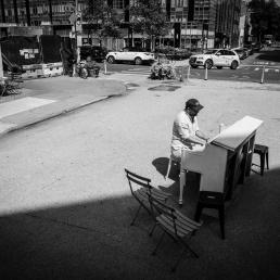 Pianist Utrecht  (NL) Praam