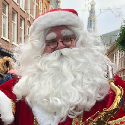 Saxofonist Rotterdam  (NL) Saxy Santa