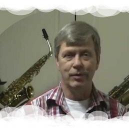 Saxofonist  Berry Lelijveld