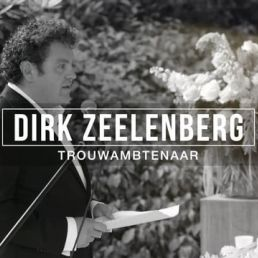 Wedding official Amsterdam  (NL) Wedding official Dirk Zeelenberg