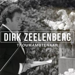 Trouwambtenaar Dirk Zeelenberg