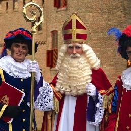 Actor Wijchen  (NL) Sinterklaas and Sootblow Pieten