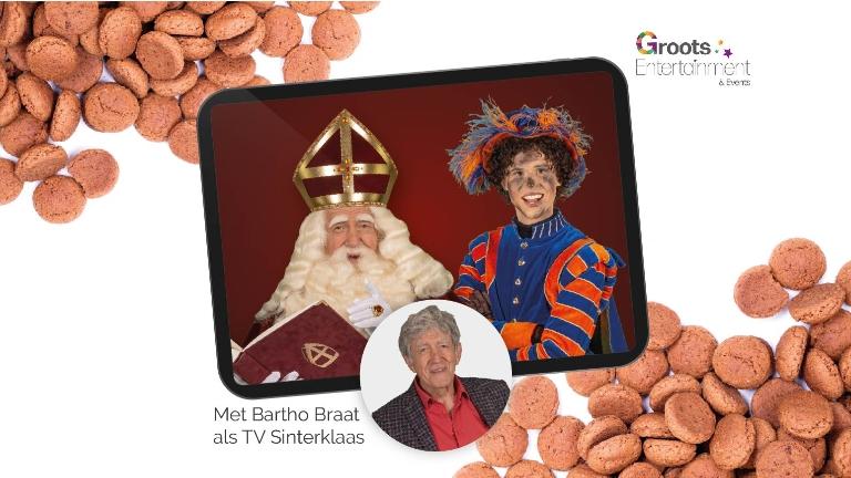 Kindervoorstelling Amsterdam  (NL) Livestream met TV Sinterklaas