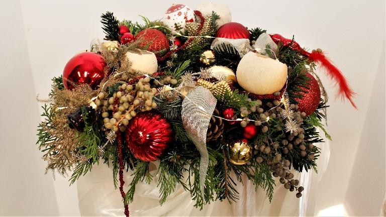 Trainer/Workshop Den Haag  (NL) Kerst Workshop, Kerststukje