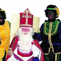 Bezoek van Sinterklaas