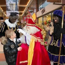 Karakter/Verkleed Heinenoord  (NL) Sinterklaas en 2 Zwarte Pieten