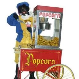 Karakter/Verkleed Heinenoord  (NL) Zwarte Pieten Popcornstand