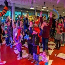 DJ Piet en show - Theatershow