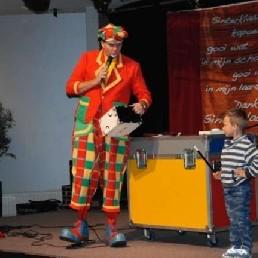 Kindervoorstelling Heinenoord  (NL) Sinterklaaspret met Clown Flap
