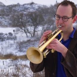 Trompettist Den Haag  (NL) Matthijs Valkenwoud Trompettist