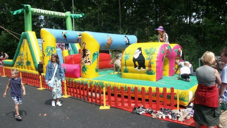 Tropische Kids Hindernisbaan