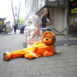 Karakter/Verkleed Heinenoord  (NL) De Oranje Leeuw