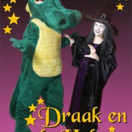 Karakter/Verkleed Heinenoord  (NL) De Draak en De Heks