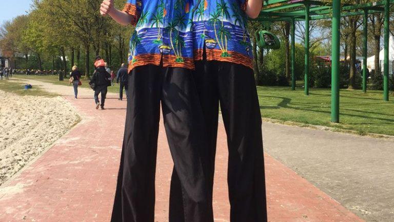 Tropical Stiltwalkers
