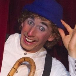 Cabaret Nieuw Schoonebeek  (NL) Mime speler komiek Kevinski