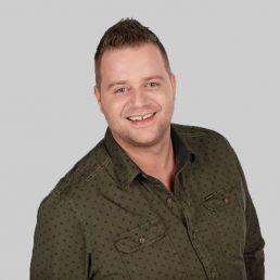 Singer (male) Eindhoven  (NL) Jeroen van Zelst