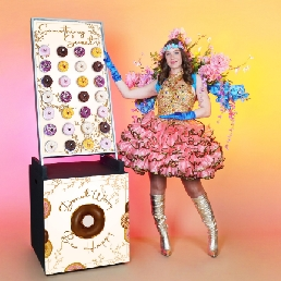 Actor Oosterhout  (Noord Brabant)(NL) Mobile Donut Wall