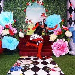 Fotograaf Oosterhout  (Noord Brabant)(NL) Photo Decor Alice in Wonderland