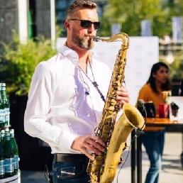 Saxofonist Broek op Langedijk  (NL) Saxperience (incl. muziek & geluid)