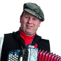 Accordeonist Amsterdam  (NL) Accordeonist Piet Schmidt