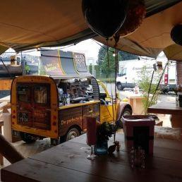 Koffie-Eend op locatie, La Dolce Barista