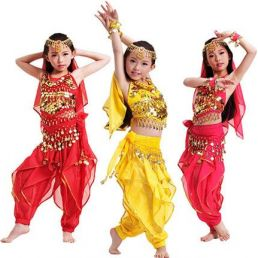 Children's belly dance party