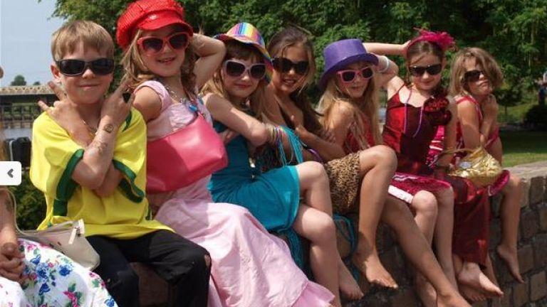 Topmodel Kinderfeestje