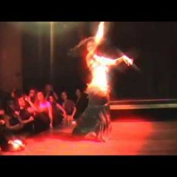 Kaouther: Belly Dance Act with Fire Show