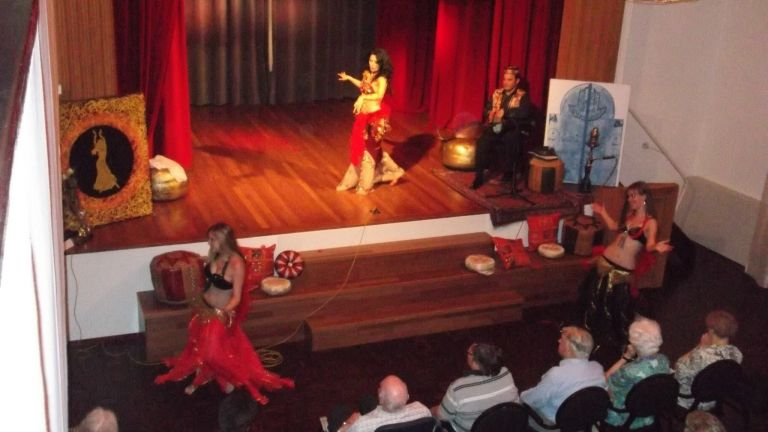 Kaouther: Belly Dance & Percussion Workshop