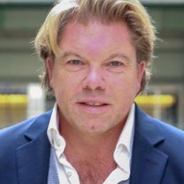 Presentator Johan van de Laar