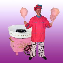 Candyfloss Popcorn attraction