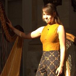 Harp achtergrondmuziek Sari van Brug