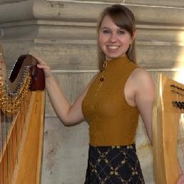 Harpist Amsterdam  (NL) Harp solo concert